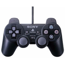 Controle Playstation 2 Dual Shock Ps2 Paralelo + Memory Card