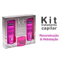 Kit Tratamento Capilar Hidrataçao E Recontruçao (1 Sh+cond.+
