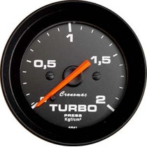 Cronomac 52mm Street Preto - Turbo 2kgf/cm²