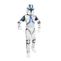 Fantasia Stormtrooper Infantil Completa C/ Máscara Star Wars