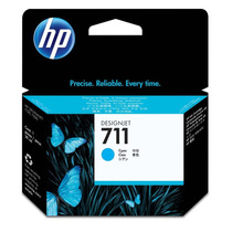 Pack 03 Cartucho Hp 711 Original Cz134a Cyan - T120/ T520