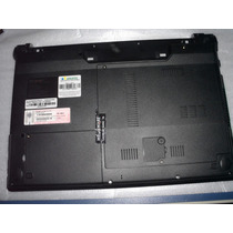 Carcaça Base Chassi Notebook Megaware Meganote 4129 Nova