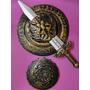 Fantasia Gladiador Romano Medieval Peitoral Espada Escudo