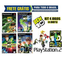 Ben 10 Ps2 Collection (kit 4 Jogos Patch) - Frete Grátis