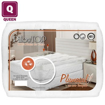 Pillow Top Queen Plumasul - 100% Pluma De Ganso