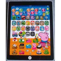 Tablet Peppa Pig Laptop Brinquedo Crianças Multifunções Novo