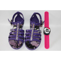 Sandálias Feminina Monster High Roxo