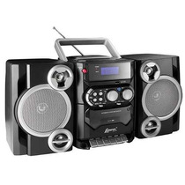 Micro Mini System Lenoxx Radio Fm Am Usb Cd Player Mp3