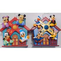 Móbile Disney Giratório Musical P/carrinho Turma Mickey Baby