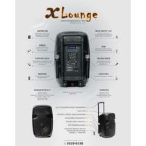 Caixa De Som Ativa Amplificada Xlounge 12`` Bateria Interna