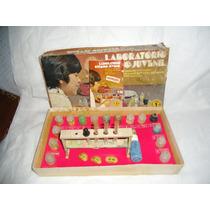 Brinquedo Antigo Laboratorio Quimico Guaporé - Ñ Estrela