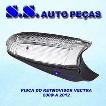 Pisca Retrovisor Vectra 2008 / Peça Original Com Luz De Chão