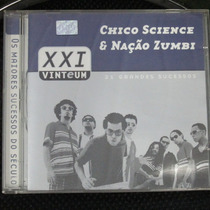Cd Chico Science E Nação Zumbi 21 Grandes Sucessos