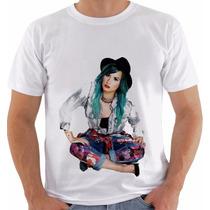 Camiseta Camisa Demi Lovato Modelo 4