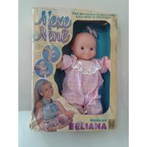 Boneca Antiga Da Eliana Mexe Nene Grow - Raridade