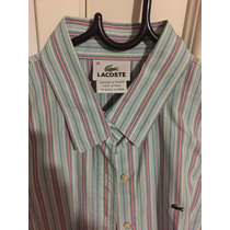 Lote 3 Camisas Grife Importadas Lacoste Abercrombie E Zara M