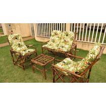 Cadeira, Poltrona, Namoradeira De Bambu, Cana Da India, Vime