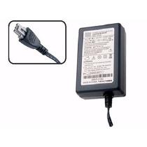 Fonte Impressora Hp Officejet J3600 Plug Cinza Nova