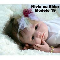Boneca Bebê Reborn Nivia Ou Elder Parece Um Bebe De Verdade