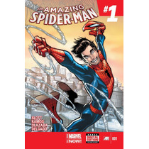 The Amazing Spider-man # 1, Marvel Now, Importada, + Bag &