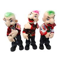 Brinquedo Boneco Musical E Dançarino Punk Lu061