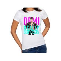Camiseta Demi Lovato Really Don