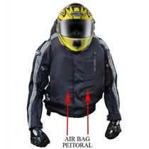 Jaqueta C/ Air Bag E Cilindro Extra Impermeável Helt - Cores