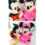 Mickey E Minnie (27cm) - Kit C/2 - Originais Disney Store®