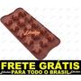 Forma Silicone Chocolates Bombons Doces Gelo Sabonetes Festa