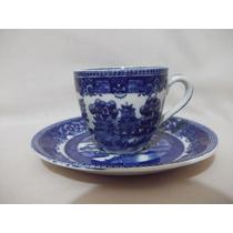 B. Antigo - Xícara De Café Antiga Em Porcelana Inglesa