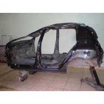 Assoalho, Lateral Painel Traseiro Renault Clio 4p 2012