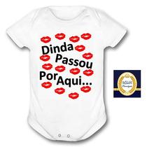 Roupa De Bebe Infantil Dinda Madrinha Masculino Feminino Tia