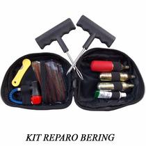 Kit Conserto Reparo Pneu Motocicleta Bering C/3 Cápsulas Co2