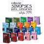 Coleção Sinopses Juridicas 2015 Para Concurso Juspodivm.