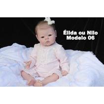 Boneca Bebê Reborn Élida Ou Nilo Parece Um Bebe De Verdade
