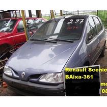 Vigia/vidro Scenic Renault 99/00 Traseiro
