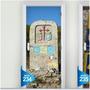 Adesivo 123 Porta Caminho Santiago De Compostela