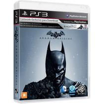 Batman Arkham Origins Português Ps3 Blu-ray Game Original