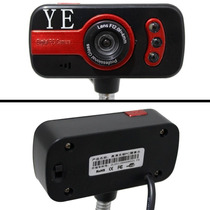 Web Cam Haste Flexivel Suporte Microfone Visao Noturna Usb