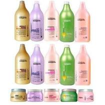 Loreal Shampoo 1,5l+condicionador +mascara 500g+1valvula