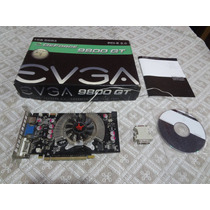 Placa Video Geforce 9800gt 1gb Ddr3 256bits Pci-e Evga