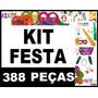 Kit Festa 200 Pessoas Adereços Casamento Formatura + Brindes