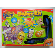 C316 - Super Kit Mighty Beanz - 12 Mb + Porta Beanz + Basq.