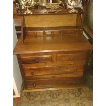 (only Wood) Escrivaninha, Biro, Secretaria Antiga Imbuia