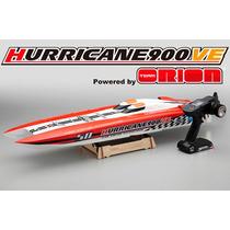 Lancha Kyosho Hurricane 900ve Completo Bateria Lipo 3s Carre
