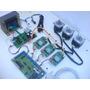 Kit Controladora Driver Cnc 3 Eixos Tb6560 Completa +motores