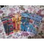 40 Kits Colorir 10x15 Giz De Cera E Lápis Embalados P/ Festa