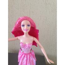 Fada Rosa Simples Barbie