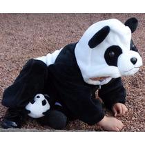 Macacão De Inverno Para Bebê Safari Panda + Frete! Luxo Kids