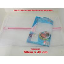 Kit 5 Uni Saco Bolsa Maquina Lavar Roupas Frete Fixo R$15,00